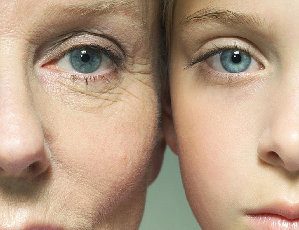 老化的差異