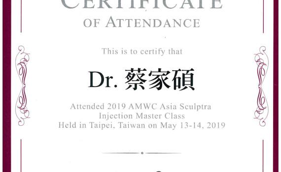 2019AMW亞洲舒顏萃注射專家會議